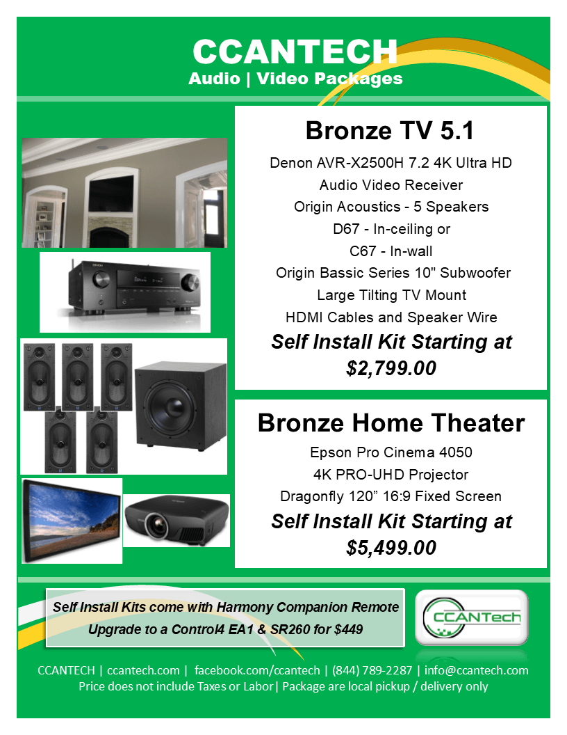 Home Theater Packages - CCANTech